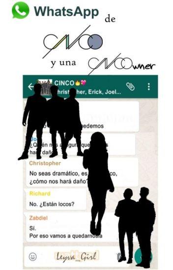 WhatsApp de CNCO y una CNCOwner
