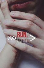   Run.   {ManXBoy} by TheBloodyPainter