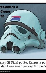 Confessions of a Pinoy Storm Trooper by kublicomics