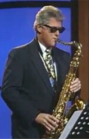 SAX AND THE CITY - BILL CLINTON X A SAXOPHONE  by mothertrump