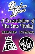 A Constellation of The Emo Trinity ✭ Zodiac Signs by ScoutBoo