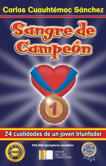 SANGRE DE CAMPEÓN