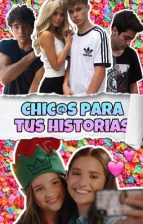 CHICOS PARA TUS HISTORIAS by -ImMarionette--