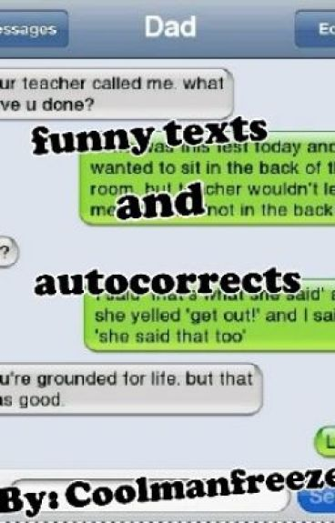 Funny texts and autocorrects