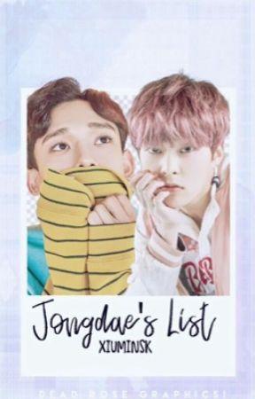 jongdae's list ; [xiuchen] by parkbucheon