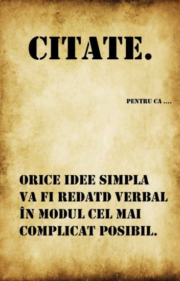 citate simple Citate.   Simple Idei   Wattpad citate simple