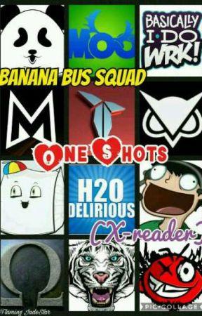 Banana Bus Squad! (One Shots x-reader) by SepticeyeJade
