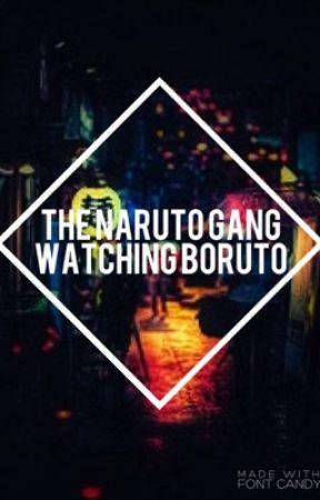 The Naruto Gang Watching: Boruto ⋙ Naruto by KAMONE-HIME