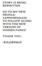Hidden Fangs (GirlxGirl) [Lesbian Story] {Discontinued} by Riz3greym0n