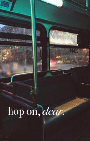 hop on, dear. by -lilyy