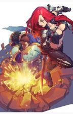 La rivalidad se queda en el campo de batalla (Garen x Katarina) by Bliekga100