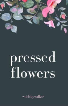 pressed flowers ; zach dempsey by -voidskywalker