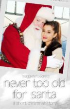 Never Too Old To Meet Santa: A Short Christmas Story by maggie10secrets