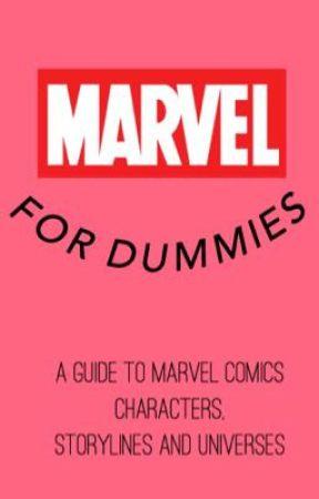 MARVEL: FOR DUMMIES by glitterholtzy
