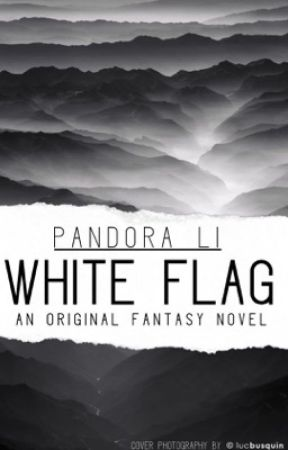 white flag  by paperpandora
