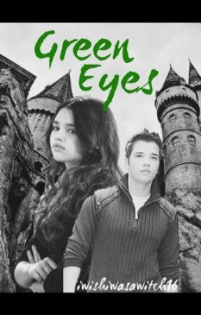 Green Eyes by iwishiwasawitch16