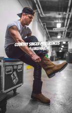 Country Singer Preferences by Lukefanatic