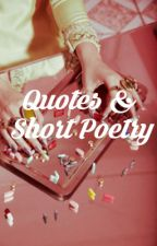 quotes & short poetry by sunswept
