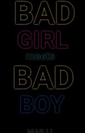 BAD GIRL meet's BAD BOY by Baby_MJ14