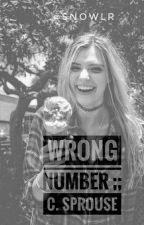 Wrong Number ☼ C.S ☼ by sailorlm