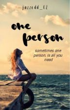 One Person || Wattys 2017 by jazzedd_02