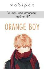 orange boy ❅ yoonmin [coming soon] by uwikku