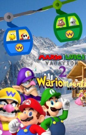Mario and Luigis Vacation 2 Wario Mountain Warios Invitation