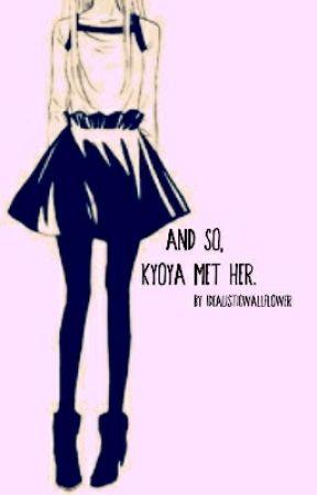 And so, Kyoya met her. OHSHC  by Idealisticwallflower