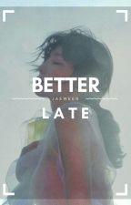 better late | junhoe rosè by jaeween