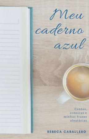 Meu Caderno Azul by rebeca__c