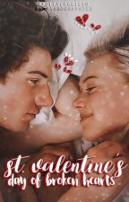 San Valentine's  Day Broken Heart by paulavcarrillo