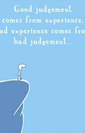 Bad Judgment by jazminhood123