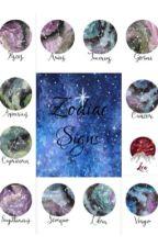 Zodiac Signs by TheTrueNico-san