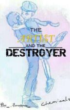 The Artist and The Destroyer. (Ink X Error) by _-Skittle_Face_-