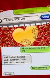 Txting I LOVE YOU by Bberluv