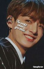 the world when you smile ─ kooktae by -taeuphorix