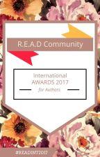 READ International AWARDS 2017 #READINT2017 (CLOSED) by READCommunity