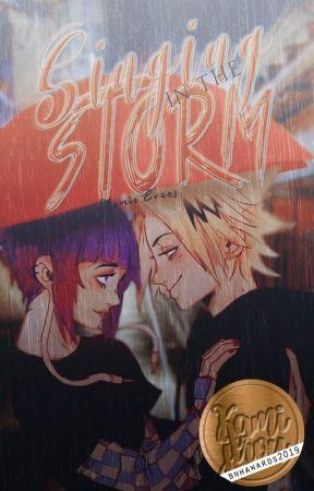 Singing in the storm | BNHA | KamiJirou  by WEEvans