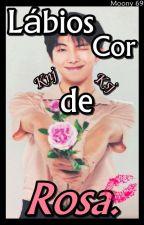 Lábios Cor De Rosa. •│Knj+Ksj│• by Lua-69
