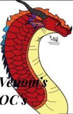 Mah book of OC's by venomflarehybrid912
