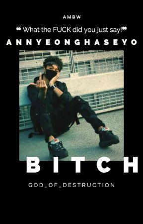 Annyeonghaseyo, Bitch. by God_of_destruction
