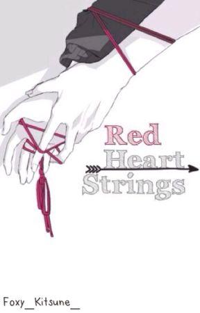 Red Heart Strings [Karma Akabane x Male! Reader] by Foxy_Kitsune_