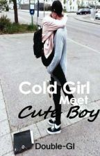 Cold Girl Meet Cute Boy by Double-GI