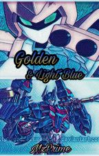 Golden & Light Blue [Transformers & Medabots] by MzPrime