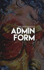 admin form by dcjusticesociety