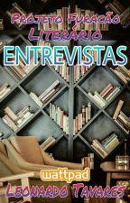 ENTREVISTAS COM AUTORES by furacaoliterario