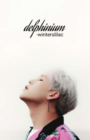 delphinium × lee jooheon by -winterslilac