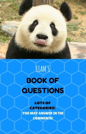 Liam's Book of Questions 😊  by LiamCute1919