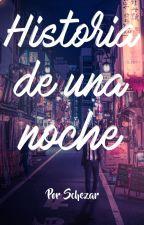Historia de una noche. by schezar