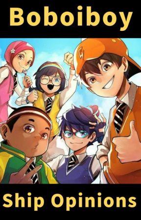 Boboiboy Random Cartoons Shipings Talk Show Thank U For The